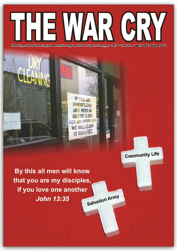 The War Cry – February 2012