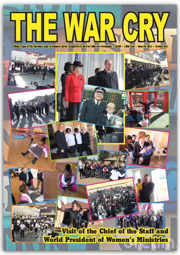The War Cry – October 2011
