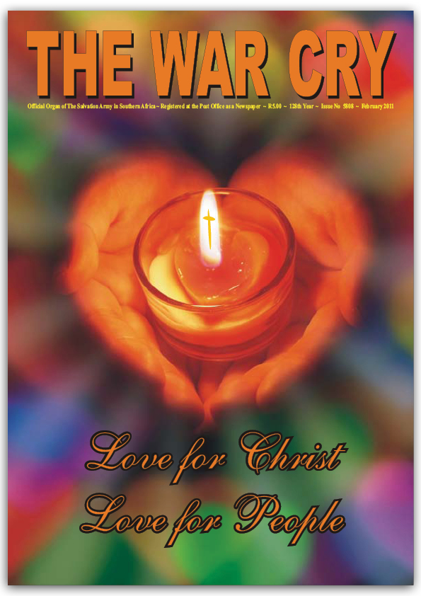 The War Cry – February 2011