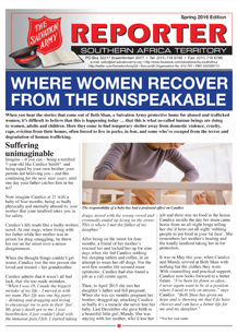 The Reporter – Spring 2016