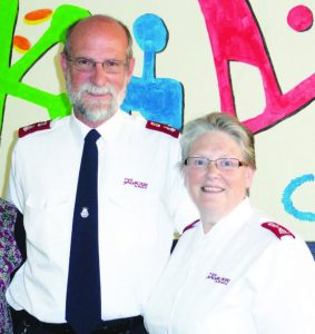 Major Andrew and Beckie Murray relieved to be unscathed