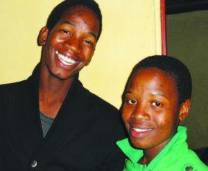 The twins, Zakhele and Xoli