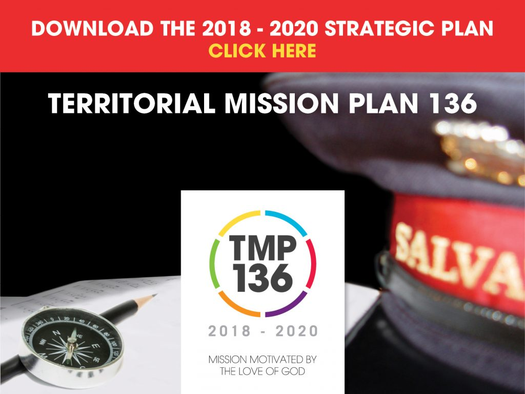 The Salvation Army 2018 - 2020 Strategic Plan